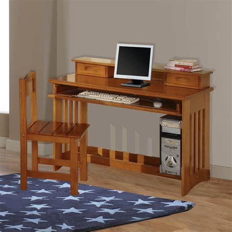 Pine Desk Hutch by American Furniture Classics Model 2168 Solid Pine Student