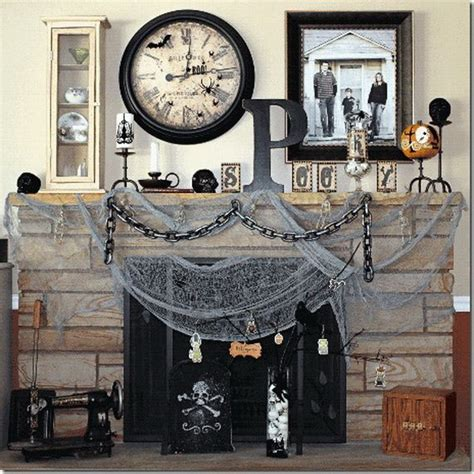 halloween decoration ideas home 44 unique steunk halloween decorating ideas digsdigs