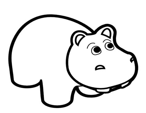 imagenes para colorear hipopotamo 107 dessins de coloriage hippopotame 224 imprimer sur