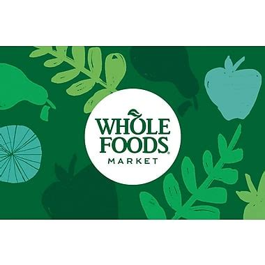 Does Whole Foods Sell Gift Cards - whole foods market gift card 100 email delivery staples 174