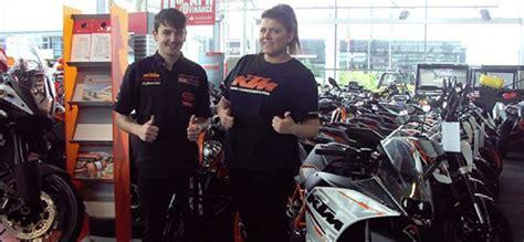 Motorcycle Dealers Lancashire by Lancashire Motorbike Dealer Scores High In Ktm Mystery Shop
