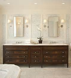 mahogany cabinets traditional bathroom mcgill design