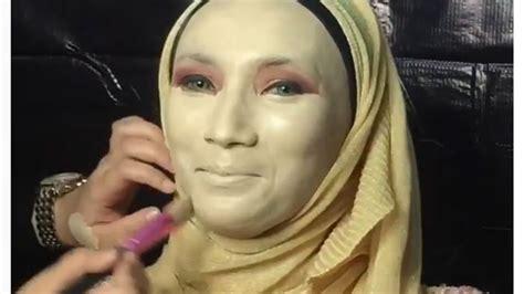 tutorial makeup hantu tutorial makeup pengantin ini awalnya malah mirip hantu