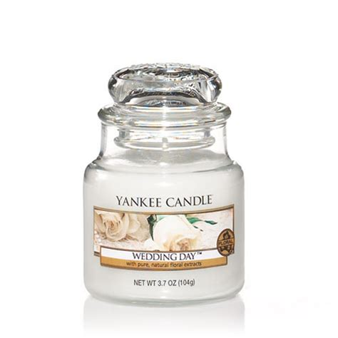 Wedding Yankee Candle by Yankee Candle Wedding Day R 20 Small Jars Scented Candle