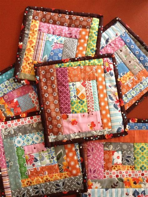Patchwork Items - how to make potholders from all the scraps you just can t