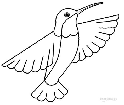 coloring page hummingbird free colour of humming bird coloring pages