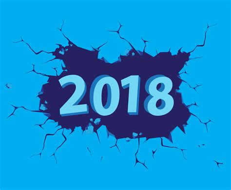 new year 2018 free vector new year 2018 vector vector graphics freevector