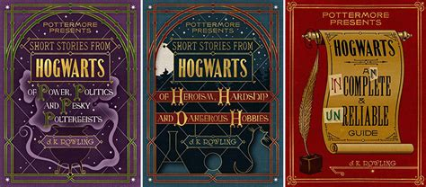 not a fan journal ebook j k rowling is about to release 3 harry potter books