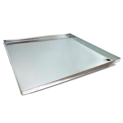drip pan for controlling water ingress bc site service