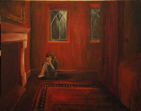 painting a room red jane eyre as a child painting www pixshark com images