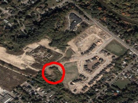 satellite view of house 302 found