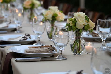 Simple Wedding Table Decorations Emanuela S Closest You 39ll Get To An Outdoor Wedding Ceremony In And They 39ll