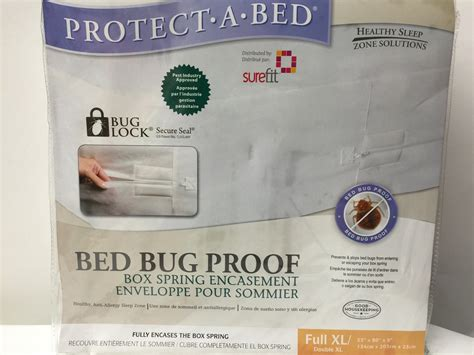 Bed Bug Mattress And Box Encasements by New Protect A Bed New Bed Bug Proof Box Encasement