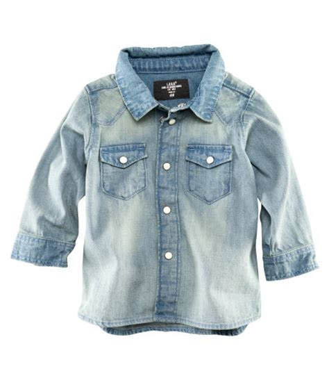 h m baby boy s 4 24m denim shirt 14 95 baby boy