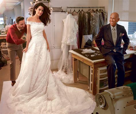 hochzeitskleid amal clooney amal alamuddin george clooney the wedding la vida de
