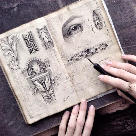 elegant dip  illustrations   sketchbooks
