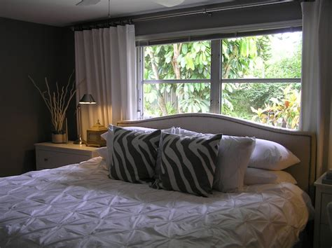 bed by the window pintuck comforter contemporary bedroom ici dulux