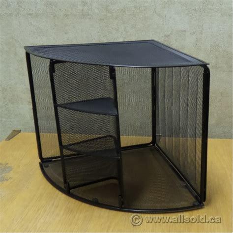unique corner desk rolodex black mesh unique corner desk organizer allsold