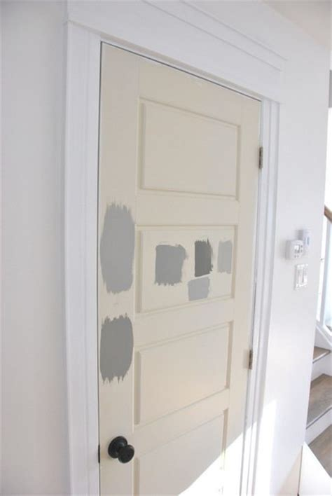 Gray Interior Doors Painting Gray Interior Doors How I Did It And The Amazing