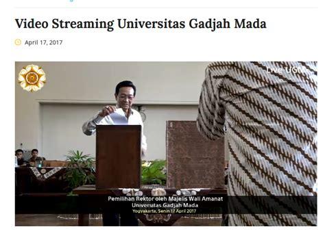 Buku Restorasi Sungai Agus Mulyono Ugm An prof panut mulyono rektor ugm 2017 2022 terpilih yang sabar meniti karir struktural sejak