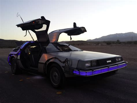 real flux capacitor for sale cool back to the future replica delorean fetches thousands time travel not included
