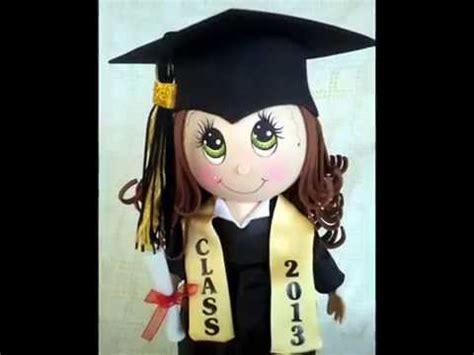 imagenes egresados goma eva graduation fofucha doll craft foam doll youtube