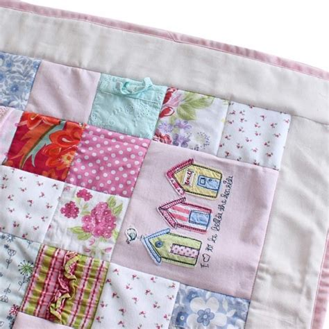 Patchwork Quilt Out Of Baby Clothes - all squared up baby clothes memory quilt patchwork castle