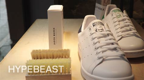 sneaker cleaning jason markk on how to clean 4 sneakers in 4 minutes