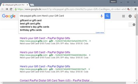 How To Use Gift Card On Paypal - paypal digital gift cards code leak ghacks tech news