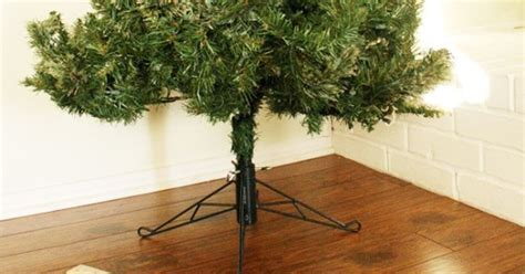 cover your ugly christmas tree base simple fix hometalk
