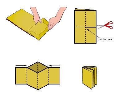 How To Make A Paper Bag Out Of Wrapping Paper - how to make a paper bag book make make