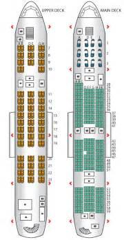 a380 800 korean air seat maps reviews seatplans com cabin plan a380