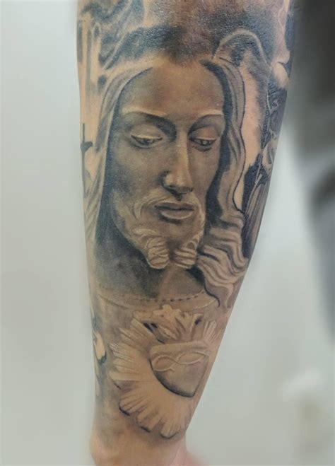 cristo tattoo jesus cristo estatua ilario tatuagem serra es