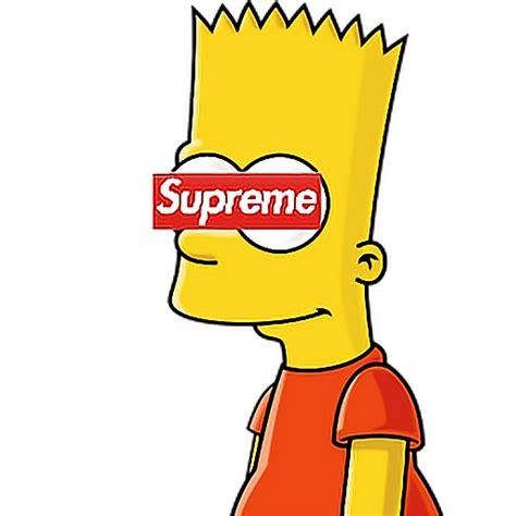 Bart Simpsons X Supreme bart supreme wallskid