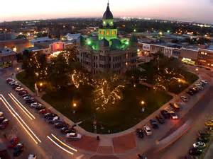 best town squares in america denton texas best of the road