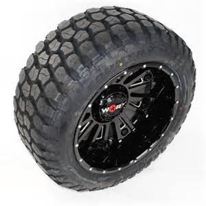 Wheels Ironman Truck 20x12 Worx 810bm Wheels Black Ironman Mt 33x12 50r20 Tires