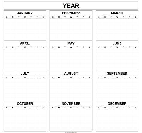 blank editable calendar templates printable blank year calendar template month editable