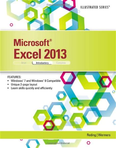Microsoft Excel 2013 Illustrated Introductory Pdf By