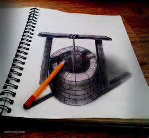 3d Drawing 20 Beautiful 3d Pencil Drawings And 3d Art Works Part 2