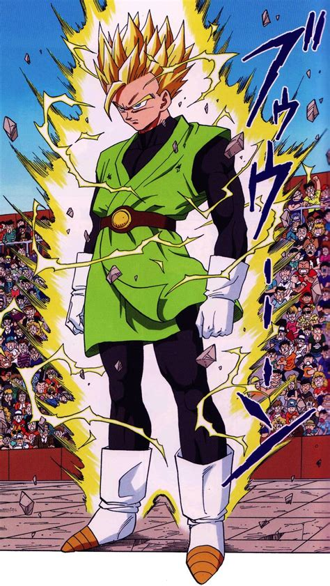 japanese series written and illustrated by toriyama songohan ssj2 illustrated by toriyama from