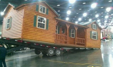 Amish Pre Built Cabins by Amish Built Log Sided Cabin Pre Built Delivered 14 X 40