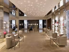 Retail Store Floor Plan christian dior boutique beverly hills stellar interior