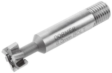 Dormer Drills Australia C810 6 0mm Dormer 57 Mm Hss Slot Drill 6mm Cut Length
