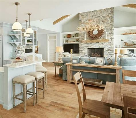 beach house kitchen ideas rustic beach house kitchen www pixshark com images