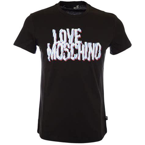Moschino Tshirt moschino printed black t shirt moschino from n22 menswear uk