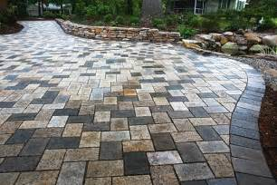block patio designs recycled granite patio in a mixed blend recycled granite