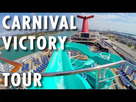 carnival victory floors carnival victory tour carnival cruise line cruise ship