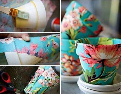 How To Make Paper Mache Pots - diy paper mache flower pot diy crafts