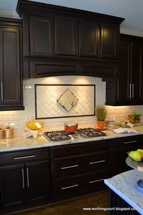 dark wood cabinet kitchens kitchen contemporary kitchen backsplash ideas with dark
