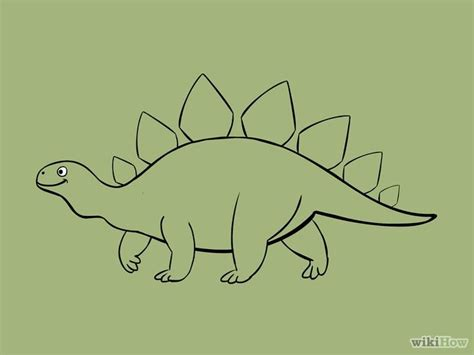 Drawing Dinosaurs by 5 Ways To Draw Dinosaurs Wikihow